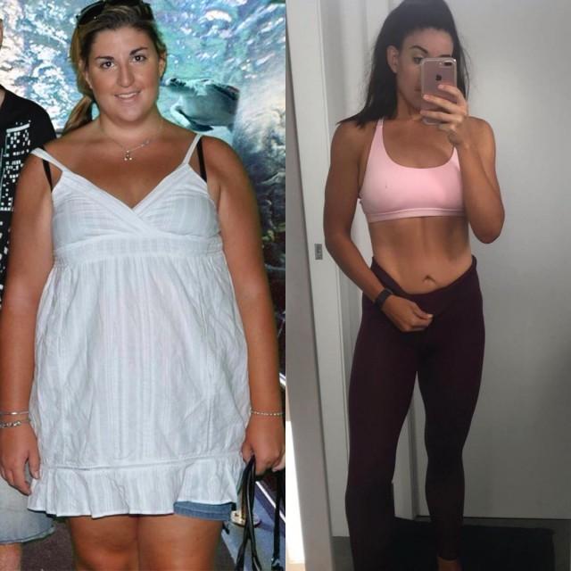 Девушка похудела на 55 кг за год ради свадьбы (15 фото)