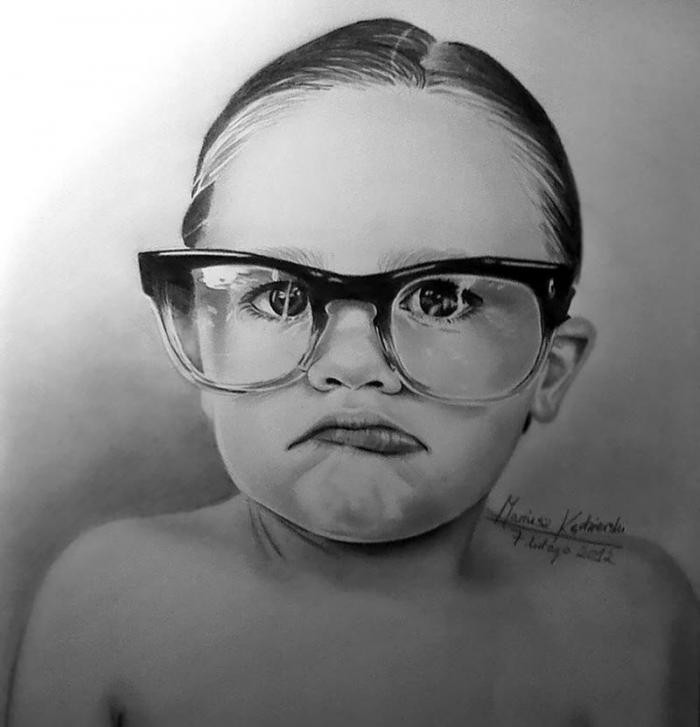 Родившийся без рук, рисует невероятно реалистичные картины (12 фото)