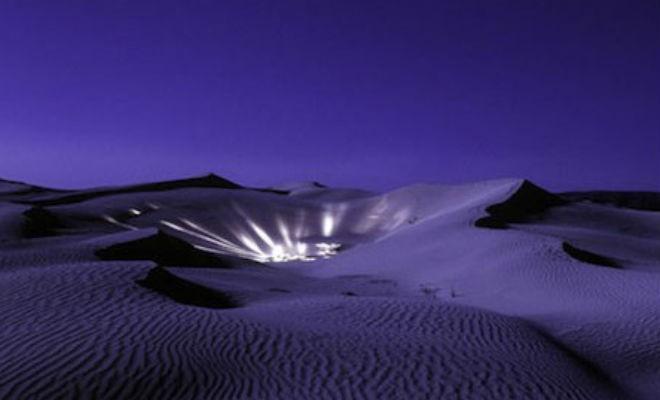 Бермудский треугольник в мексиканской пустыне (3 фото)