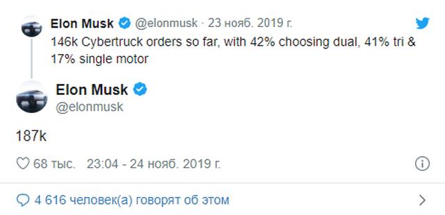 Tesla получила огромное количество предзаказов на новый пикап (4 фото)