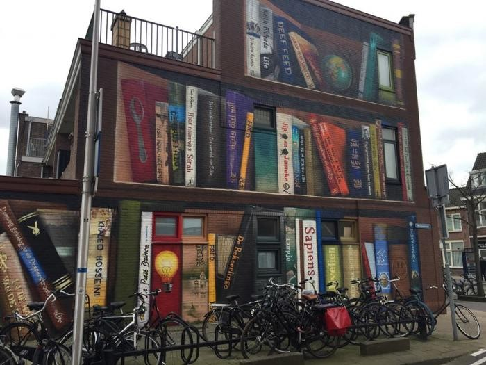 Художники разрисовали стену многоквартирного дома (6 фото)