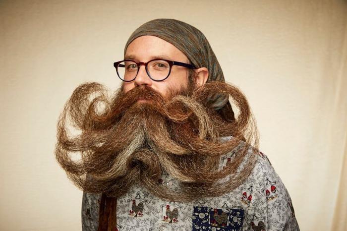 Участники благотворительного чемпионата на лучшую бороду 2019 (25 фото)