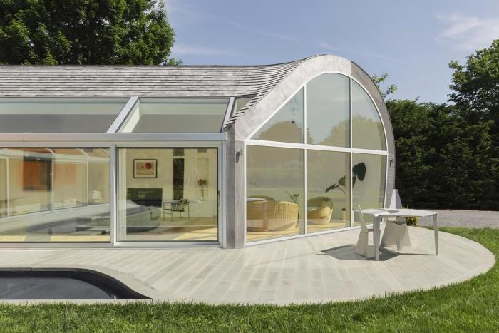 Дом в форме кокона в штате Нью-Йорк (32 фото)