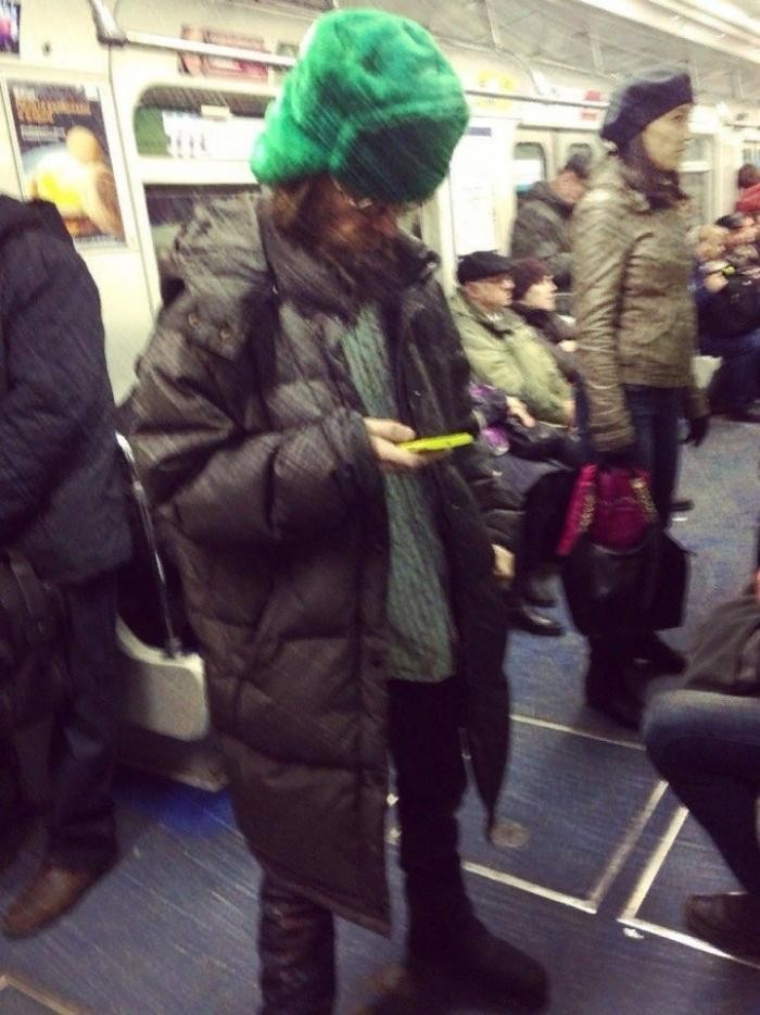 Модники из метрополитена (30 фото)