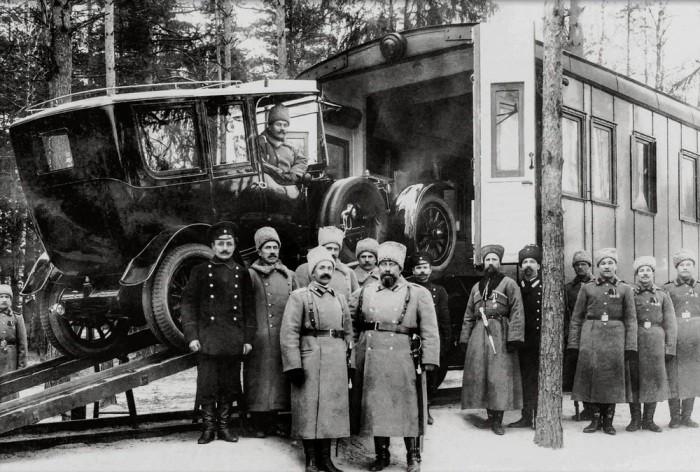 Автопарк императора Николая II (5 фото)