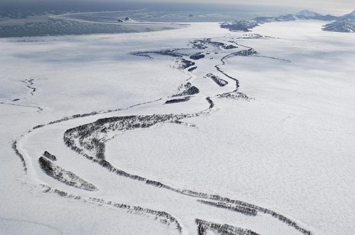 Зимняя Камчатка с высоты (9 фото)