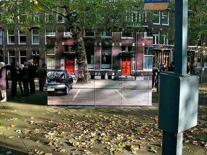 Умело замаскированные здания (46 фото)