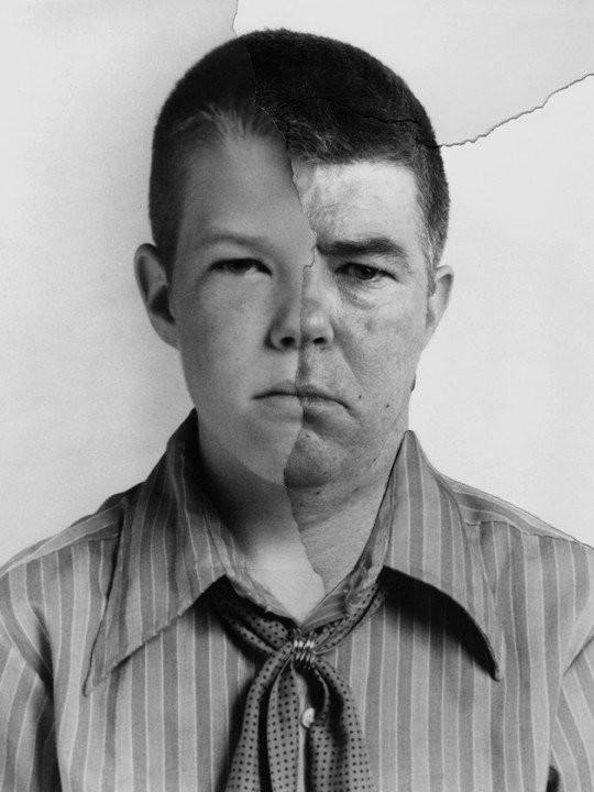 Фотограф очень наглядно показал, как меняются лица людей (20 фото)