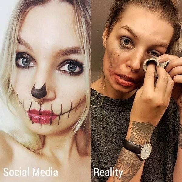 Девушка показала всю неправдоподобность Instagram (20 фото)
