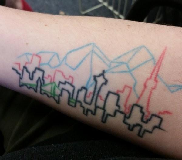 Креативные татуировки со смыслом (15 фото)