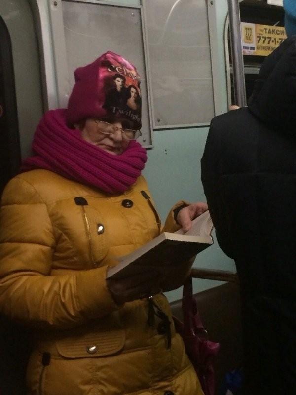 Модники и модницы из метрополитена (30 фото)