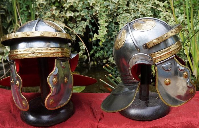 История римского шлема (7 фото)