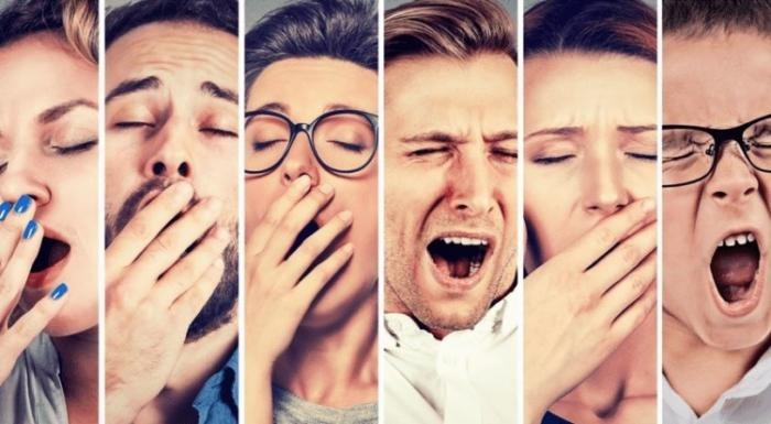 Почему зевота заразительна?(2 фото)