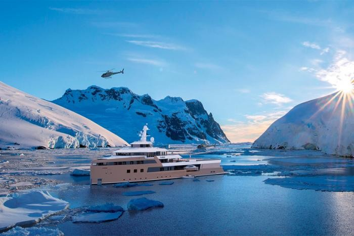 Яхта-ледокол Олега Тинькова изнутри (11 фото)