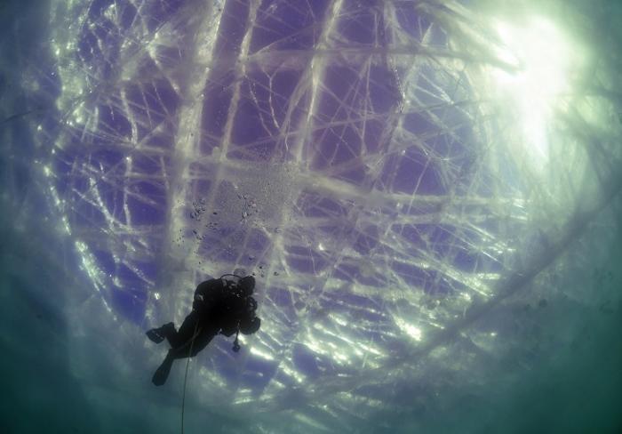 Подледные дайверы (15 фото)