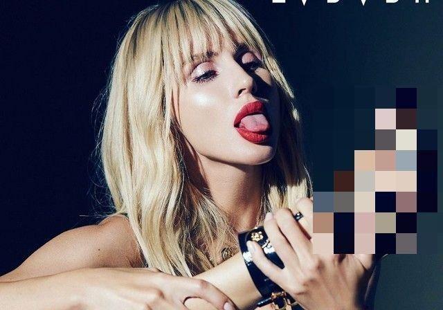 Светлана Лобода опубликовала обложку нового сингла. (2 фото)