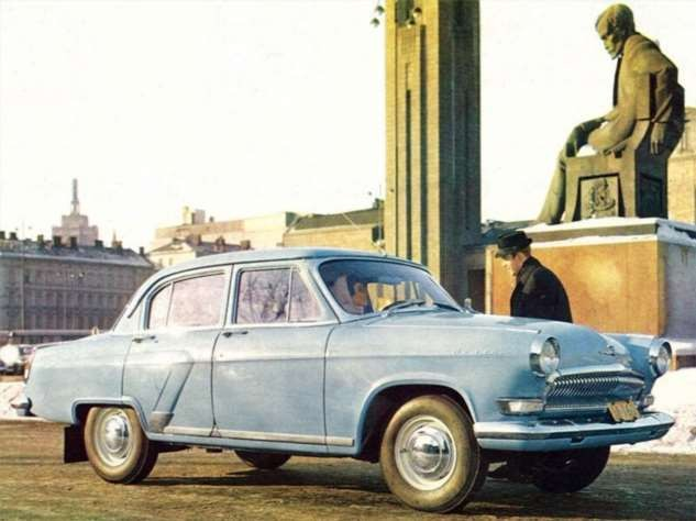 Каршеринг СССР (5 фото)