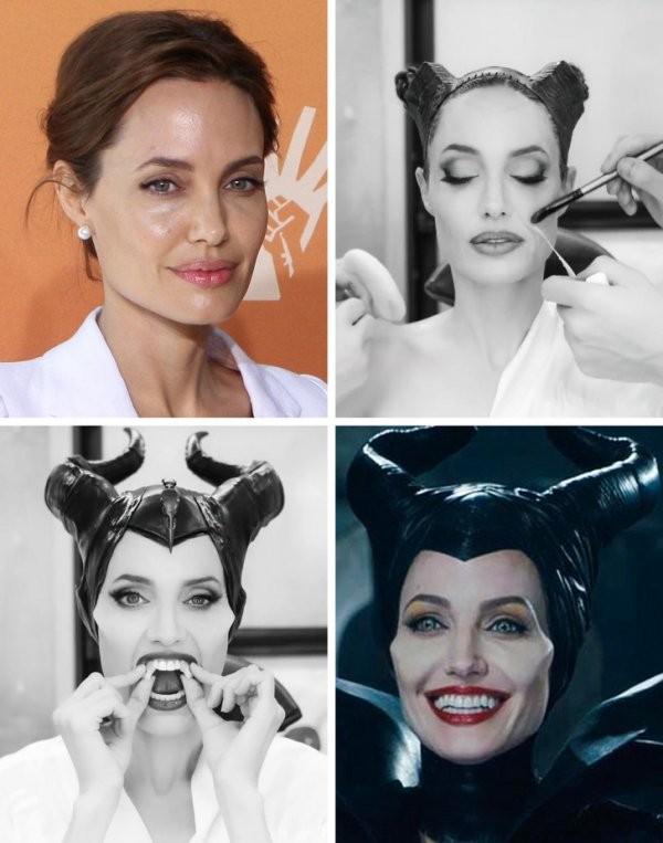 Как актеры превращаются в своих киноперсонажей (16 фото)