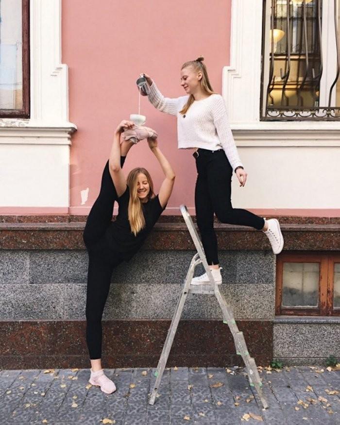 Девушки с отличной растяжкой (30 фото)