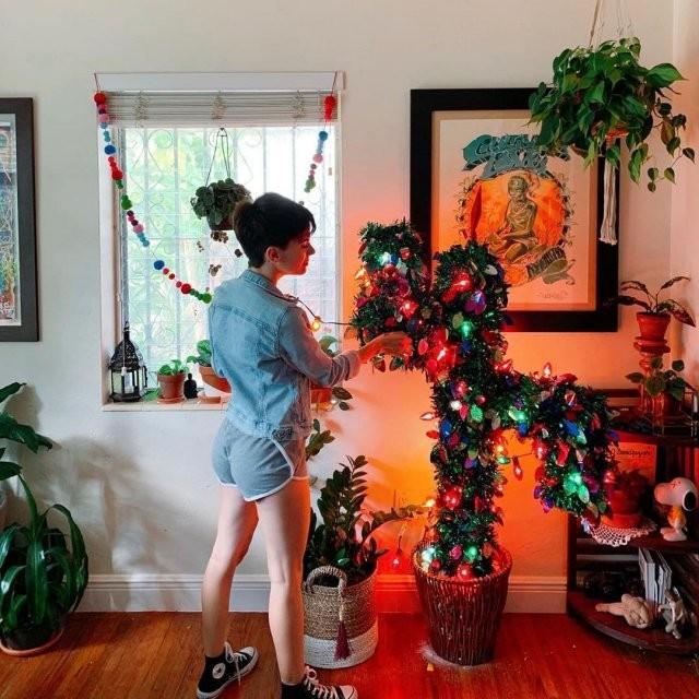 Необычные новогодние елки (20 фото)