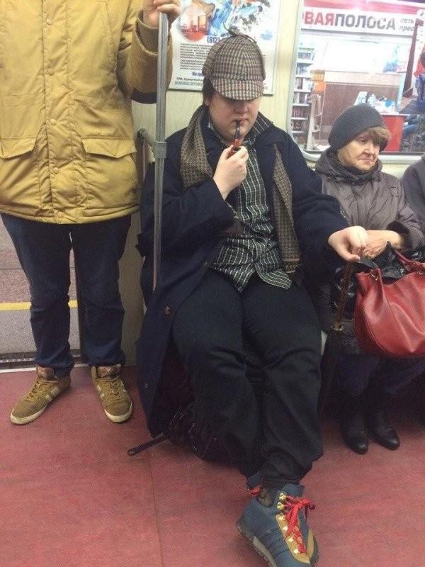 Модники и модницы метрополитена (30 фото)