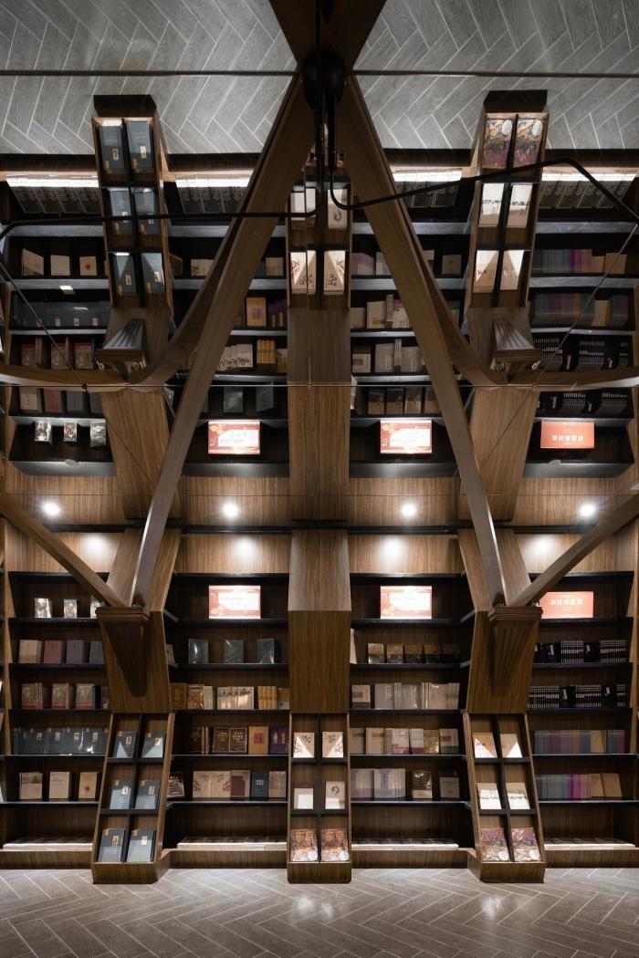Интерьер книжного магазина в Шанхае (15 фото)