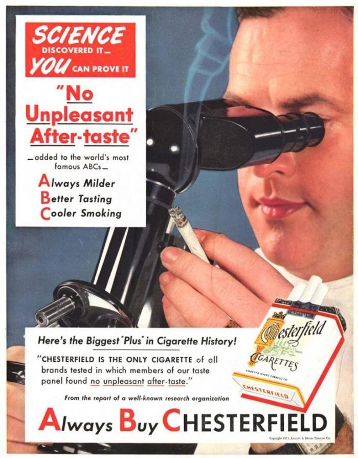 Как табачные компании использовали врачей (9 фото)