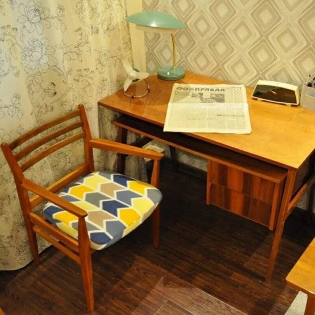 Интерьеры советских квартир (20 фото)