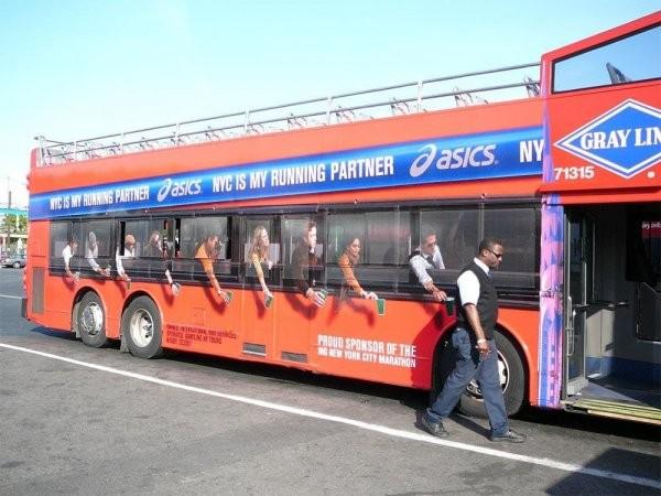 Реклама на автобусах, как произведения искусства (17 фото)