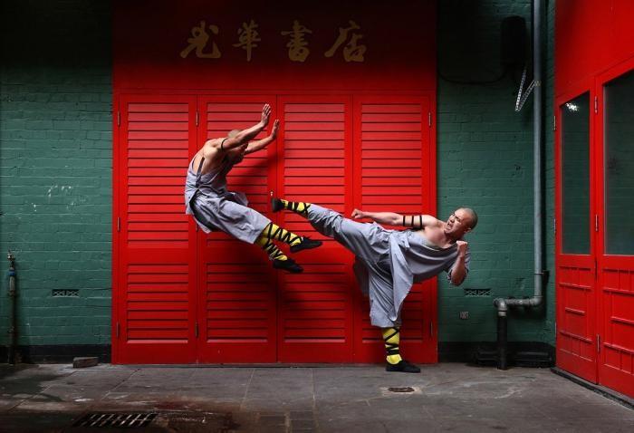 Мастерами кунг-фу не рождаются (10 фото)