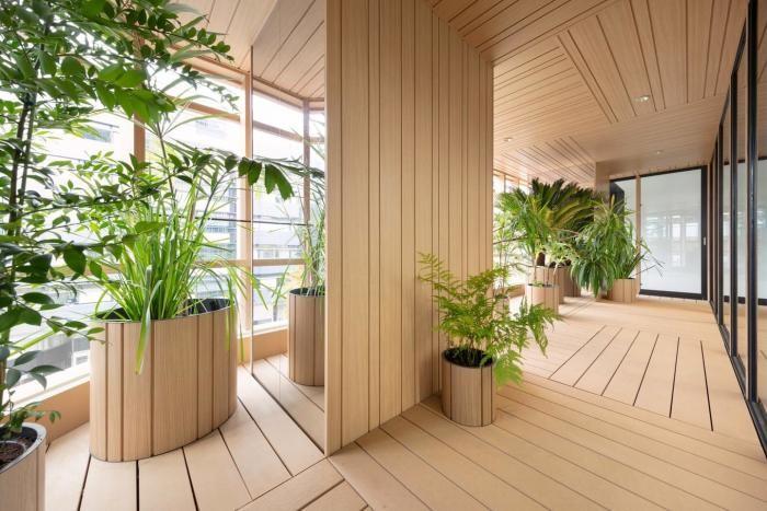 Необычное офисное здание в Токио (28 фото)
