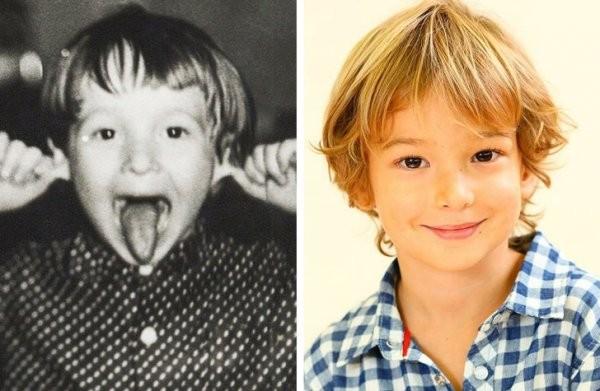 Как выглядели отечественные звезды в возрасте своих детей (28 фото)