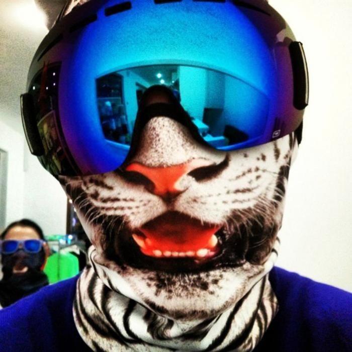 Как стать звездой любой лыжной трассы (10 фото)