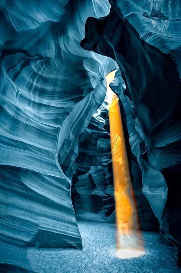 Красочное чудо: каньон Антилопы в фотографиях (12 фото)