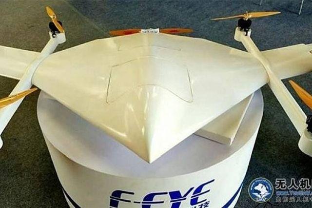 Китайские технологии: дрон на спирте установил рекорд (2 фото)