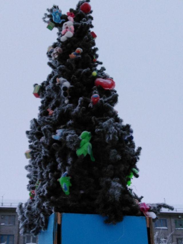 Новогодняя ёлка,которая у любого отобьет праздничное настроение (3 фото)