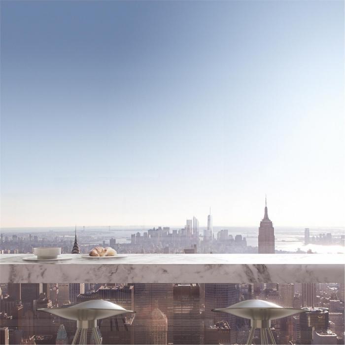 Роскошный пентхаус в Нью-Йорке (19 фото)