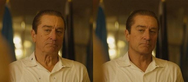 """Герои фильма """"Ирландец"""" до и после компьютерной обработки (6 фото)"""