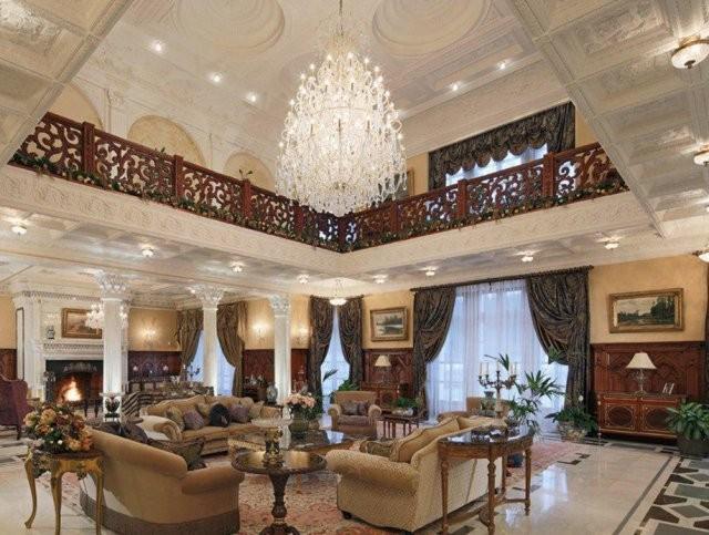 Как выглядит дом, который стоит 12 миллиардов рублей (9 фото)