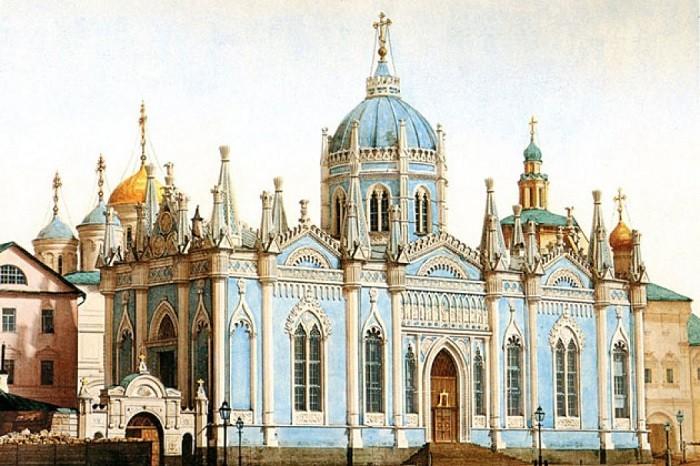 Мрачные тайны женского кладбища Кремля (6 фото)
