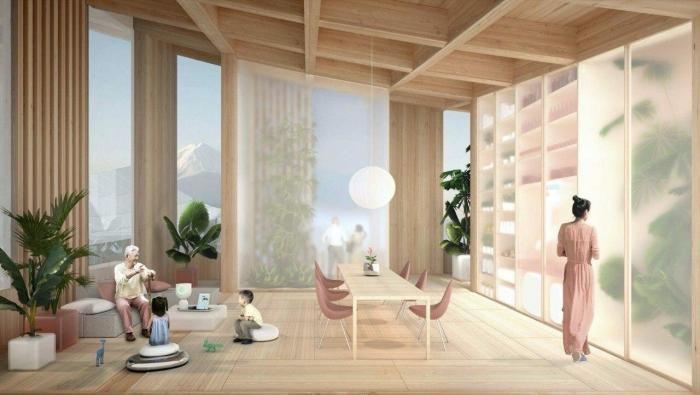 Toyota хочет построить «город будущего с беспилотными роботами (5 фото)