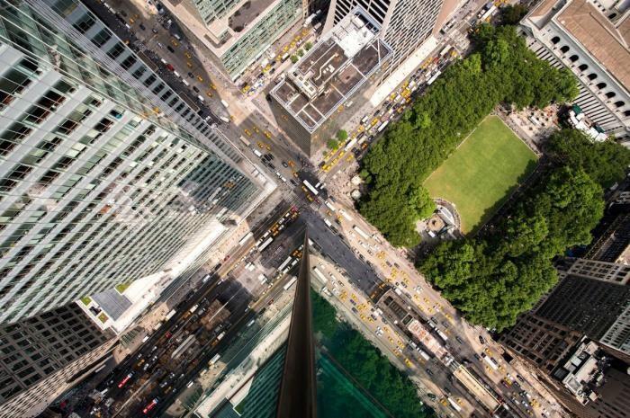 Нью-Йорк с высоты небоскребов (19 фото)
