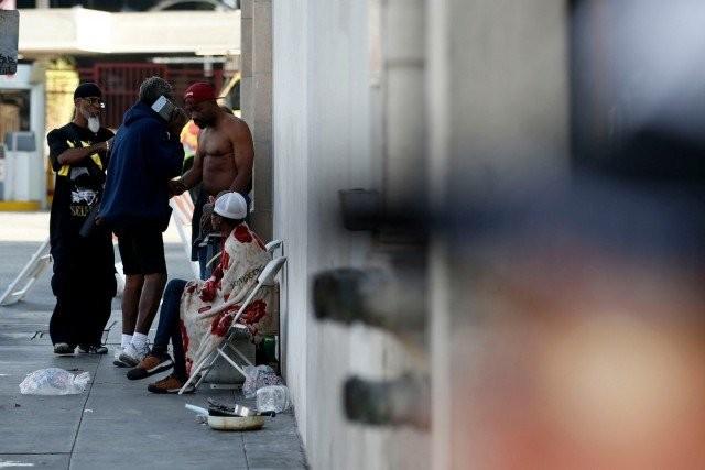 Скид Роу: самый неблагополучный район Лос-Анджелеса (20 фото)