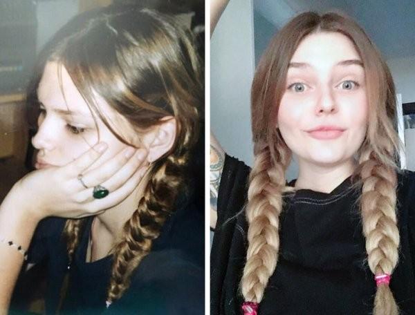Детки подросли: девушки показали, как они изменились (20 фото)