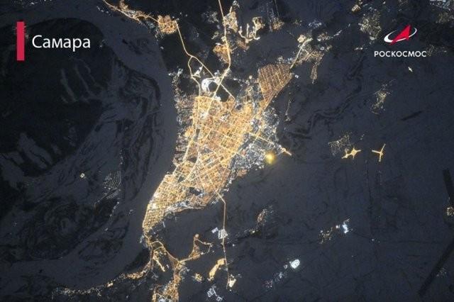 «Роскосмос» показал, как выглядят города с высоты (15 фото)