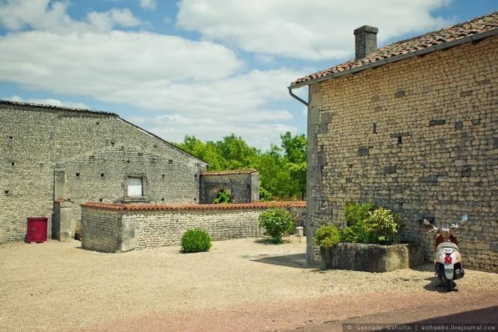 Прогулка по коньячному дому во Франции (27 фото)