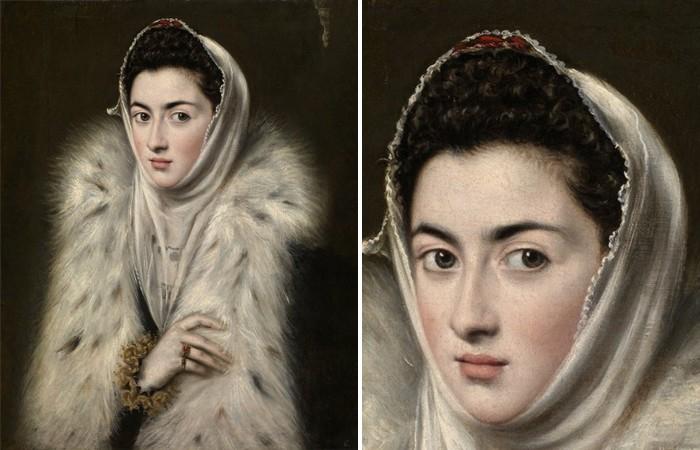 Загадка картины: «Дама в меховой накидке» (5 фото)