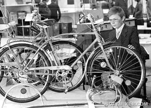 Легендарные советские велосипеды (6 фото)