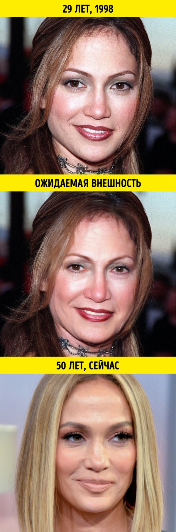 Какой бы была внешность знаменитостей, если бы они старели (10 фото)