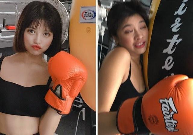 Тайская модель показала что остается за кадром в Instagram (29 фото)